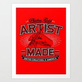 Artist Made Art Print