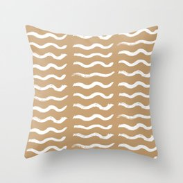 Wavy Throw Pillow