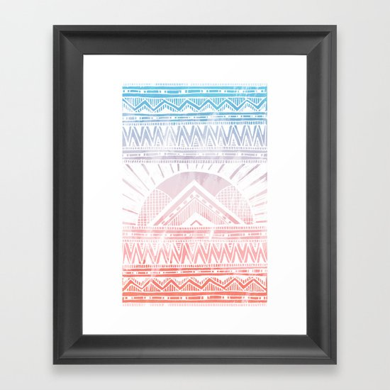 Surf Morning Framed Art Print