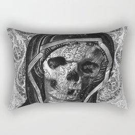 Rubino Vintage Retro Skull Metal Rectangular Pillow