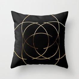 Modern Minimalist Design Throw Pillow