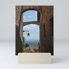 portals .:. assisi Mini Art Print