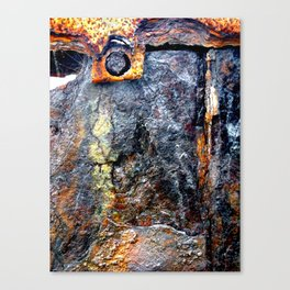 meEtIng wiTh IrOn no24 Canvas Print