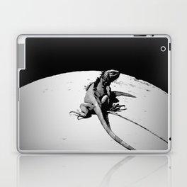 Lizard on Concrete Laptop & iPad Skin