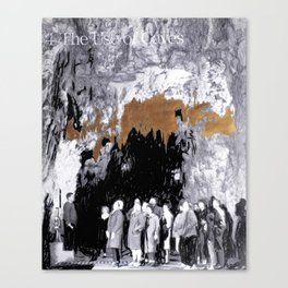 Cave Drawing VII Canvas Print