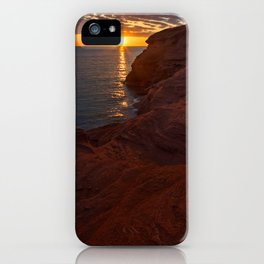 Seacow Head Sunset iPhone Case