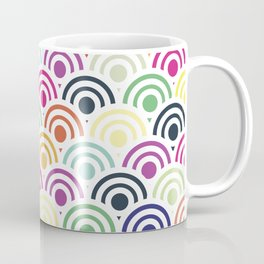 Colorful Circles II Coffee Mug