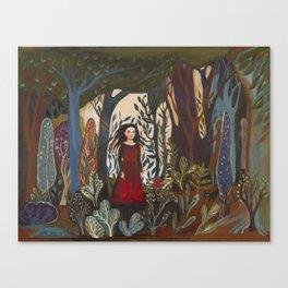 Forest Dress Canvas Print