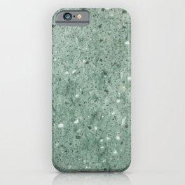 Jade Rock Sand iPhone Case