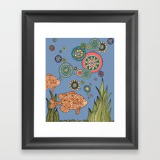 One Fish Two Fish Framed Art Print