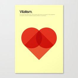 Vitalism Canvas Print