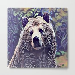 The Grizzly Bear Metal Print