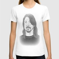 dave grohl T-shirts featuring Dave Grohl , Portrait Art by N_T_STEELART