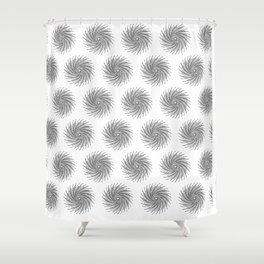 Tesla Whirl of Energy Shower Curtain