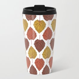 Autumn leaves pattern Travel Mug