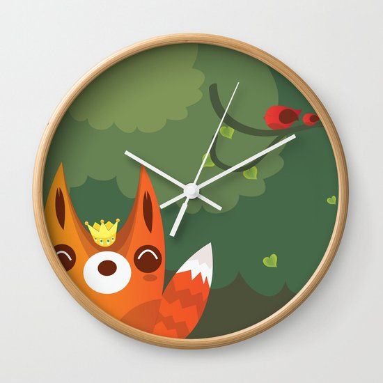 Kingfox Wall Clock