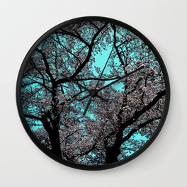 Hana Collection - Japanese Cherry Tree 'the Old one' Wall Clock