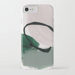 minimalist painting 01 iPhone Case