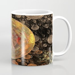 Orange Bubble Coffee Mug