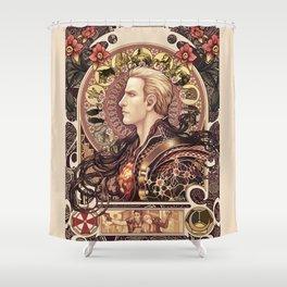 Biohazard Zodiac Shower Curtain