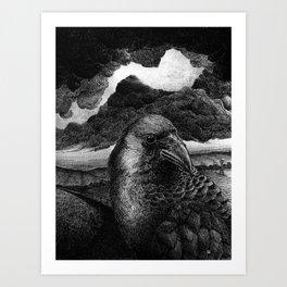 Auspex Illustration #1 Art Print