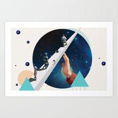 Time's Arrow Art Print