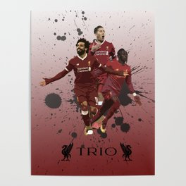 Liverpool trio attack Poster