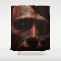 hannibal Shower Curtains featuring Hannibal by mycolour