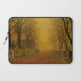 Evening Glow by John Atkinson Grimshaw Laptop Sleeve