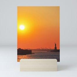 126. Liberty Light, New York Mini Art Print