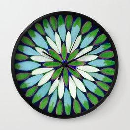 Botanical Refletions Wall Clock