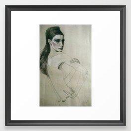 fee Framed Art Print