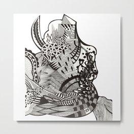 abstract vol 1 Metal Print