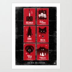 The Red Collection Art Print