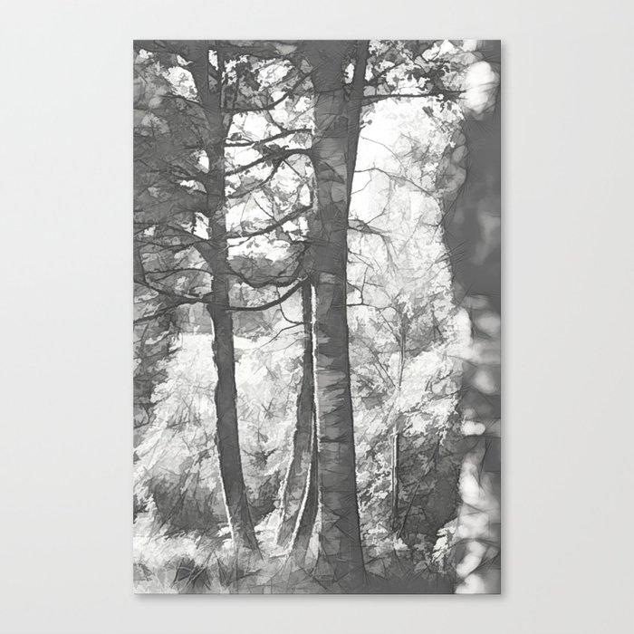 of lonesome birds nest... Canvas Print
