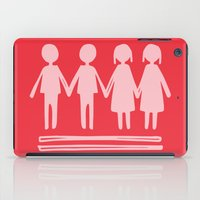 equality iPad Cases featuring Equality Love by MaJoBV