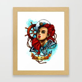 Hello Sailor Framed Art Print