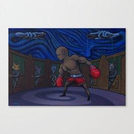 Domino The Destitute Canvas Print