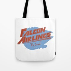 Falcon Airlines Tote Bag