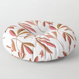 Pink Ash Repeated Floor Pillow