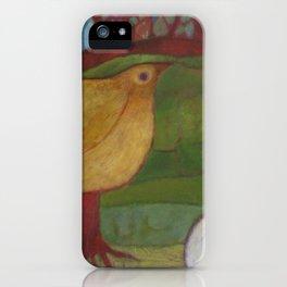 Fuel (Bird detail) iPhone Case