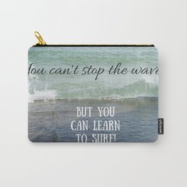 Ride the Waves! Carry-All Pouch