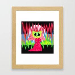 In Love | Kids Painting | by Elisavet Framed Art Print