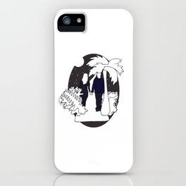 mysterious people I iPhone Case