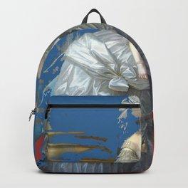 marie antoinette tribute royal light blue Backpack