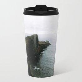 Neist Point Lighthouse II - Landscape Photography Travel Mug
