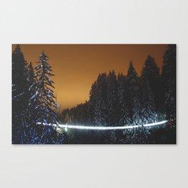 Capilano Suspension Bridge Canvas Print