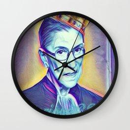 Vintage Notorious RBG SUPREMES Ruth Bader Ginsburg Wall Clock