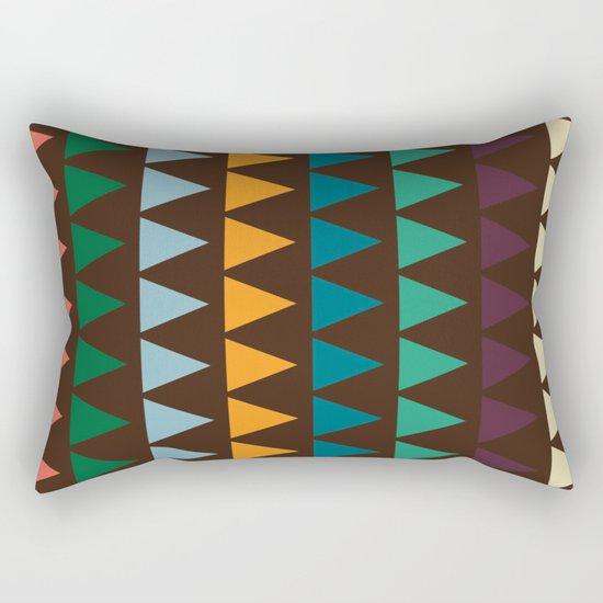 3 shades Rectangular Pillow