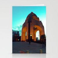revolution Stationery Cards featuring Revolution by MarianaManina